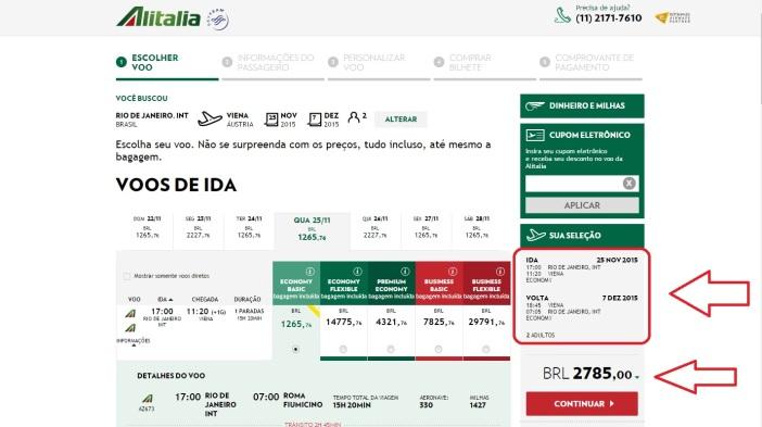 Alitalia Viena