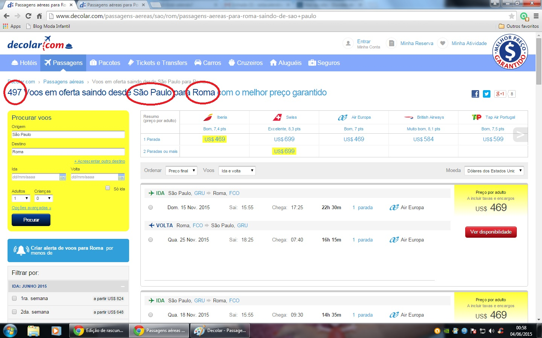Como achar a passagem mais barata no Decolar.com! – Está valendo  31fbc9e5176d8